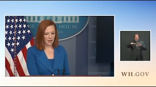 Psaki Refuses To Condemn Waters' Call To Violence