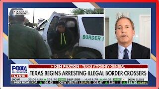 Texas Begins Arresting Illegal Aliens Crossing the Border - 2608