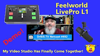 DrBill.TV #492 - The My Video Studio Has Finally Come Together Edition!