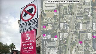Delray Beach establishes 6 rideshare zones
