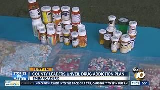 County leaders unveil drug plan
