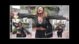 Rakhi Sawant Enjoys Mumbai Rains As She Sings & Dances To 'Tip Tip Barsa Paani'