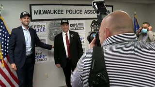 Eric Trump visits Milwaukee, highlights President Trump's support for law enforcement