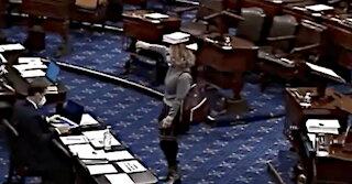 Democrat Senator Kyrsten Sinema Gives THUMBS DOWN To $15 Minimum Wage Vote