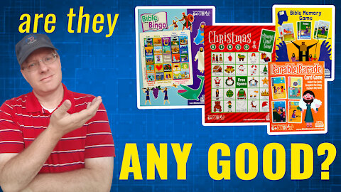 Review of 4 Games from Bible Games Central | Product Review