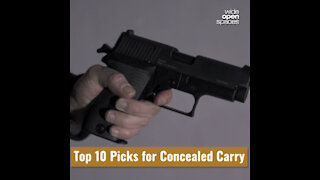 Compact Handguns: We Rate the Top 10 Picks for Concealed Carry