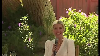 Ivanka Trump speaks in Las Vegas at reelection campaign event