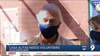 Asylum seekers arrive: Casa Alitas needs volunteers