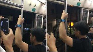 Pelottava hetki metrossa: ovet eivät sulkeudu metron lähtiessä asemalta