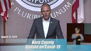 County provides an update to the Kern Recovers Program