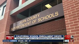 California School Enrollment Drops
