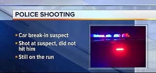 Police officer shoots at man