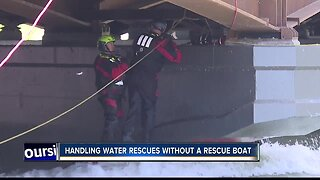 Boise Fire addresses water rescues after boat failure