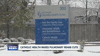 Catholic Health cuts part of pulmonary rehab program