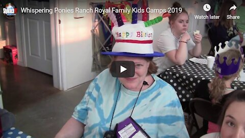 Whispering Ponies Ranch Royal Family Kids Camps 2019