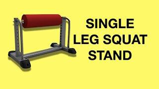 DIY Single Leg Squat Stand Roller (Bulgarian Split Squats)