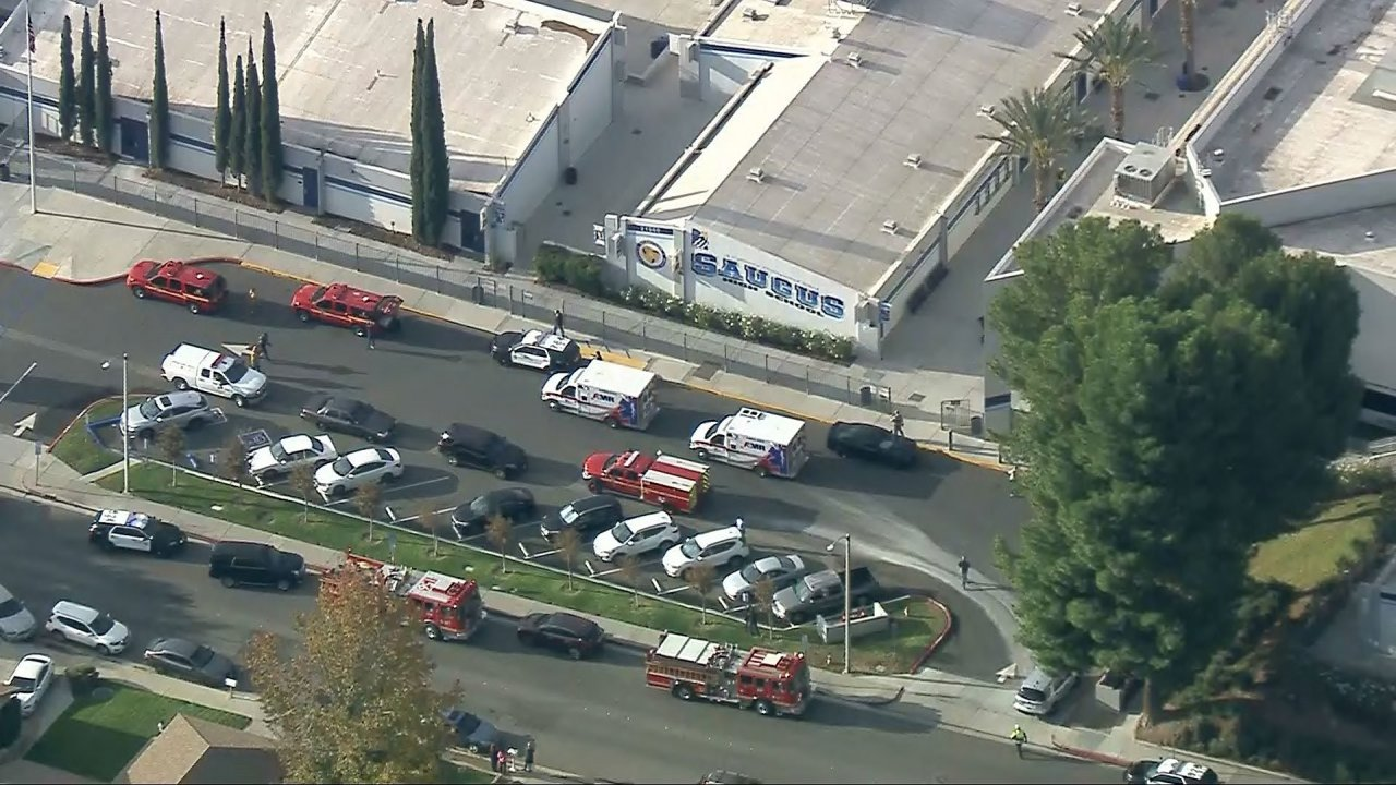 Multiple Injuries Reported In Southern California High School Shooting
