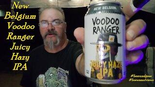 New Belgium Voodoo Ranger Hazy Juicy IPA 3.75/5
