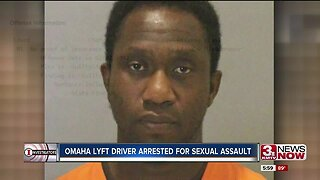 Omaha Lyft driver arrested for sexual assault