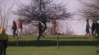 People flock to parks in Northeast Ohio amid COVID-19 pandemic