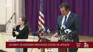 Baltimore County Executive provides COVID-19 update