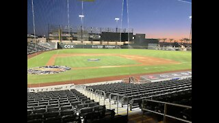 Opening Day for the Las Vegas Aviators