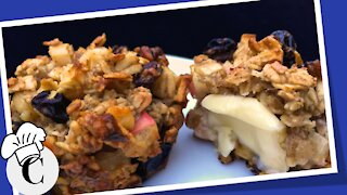 Apple Oatmeal Muffins! An Easy, Healthy Recipe!