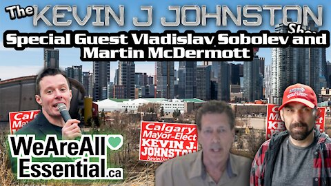 The Kevin J Johnston Show With Vlad From We Are Essential and Martin McDermott