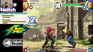 (PS2) King of Fighter XI - 38 - Challenge 38 - defeat opponent