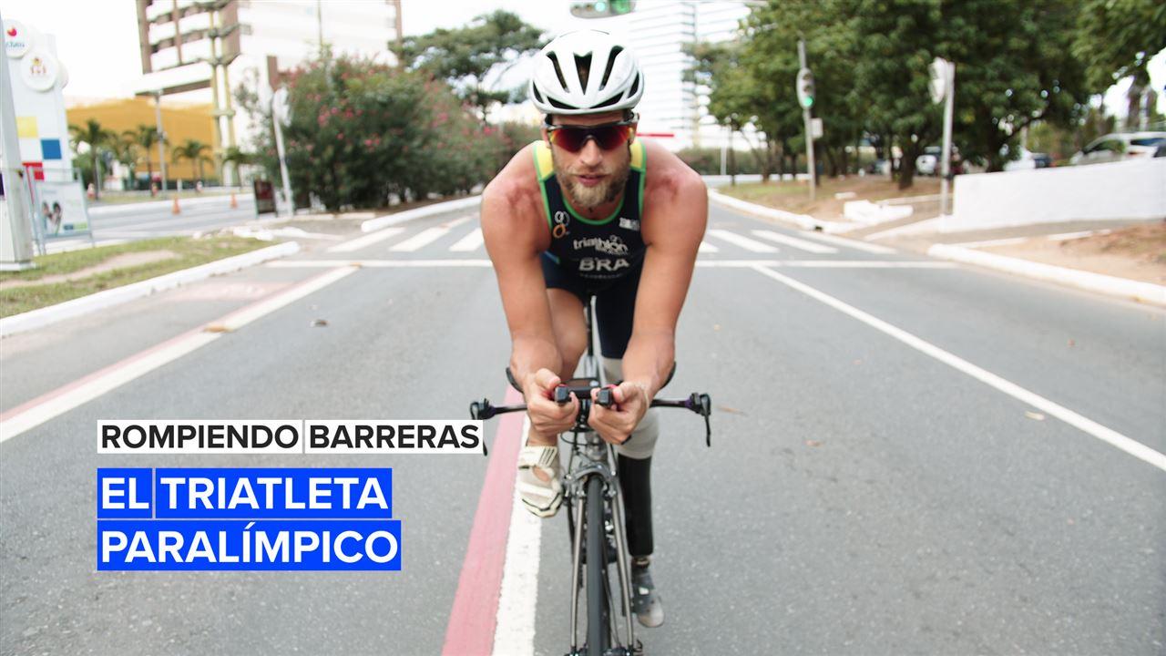 Rompiendo barreras: El triatleta paralímpico