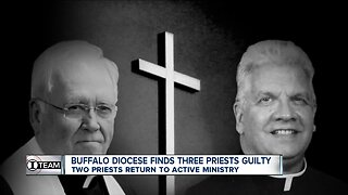 Buffalo Diocese finds three priests guilty, but returns two to ministry