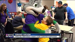 Michigan 8-year-old celebrates special birthday after being cancer-free