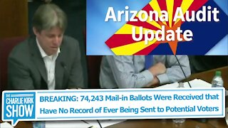 BREAKING: 74k Mail-in Ballots Were Received that Have No Record of Ever Being Sent to Voters