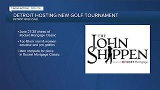 Detroit hosting The John Shippen ahead of Rocket Mortgage Classic