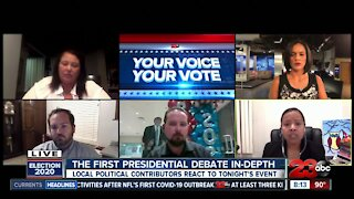 First Presidential Debate In-Depth