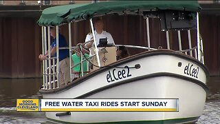 Get a free water taxi ride