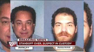 Standoff over, suspect in custody for murder of handyman