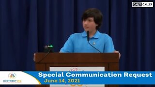 15-Year-Old High School Student Exposes Critical Race Theory In Speech - 2051