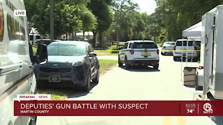 Shooting suspect killed in shootout with Martin County deputies