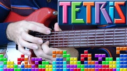 """Using """"Video Game"""" Controller to play TETRIS"""