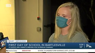 First Day of School in Bartlesville