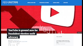 Media Matters Targets Conservative You Tube channels reporting on Az Audit