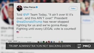Pence: Trump will fight until every LEGAL vote is counted!