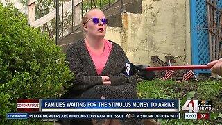 COVID-19 stimulus checks hit bank accounts