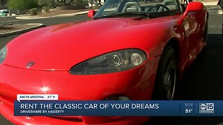 Rent the classic car of your dreams