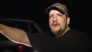 Nick Patron from Stiles recalls Monday night storm damage