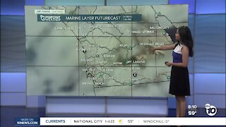 ABC 10News Pinpoint Weather for Sun. Apr. 11, 2021