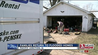 Pacific Junction community reeling from flood damage