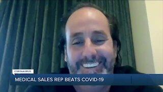 Medical sales rep beat COVID-19