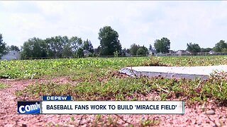 Baseball fans work to build 'miracle field'